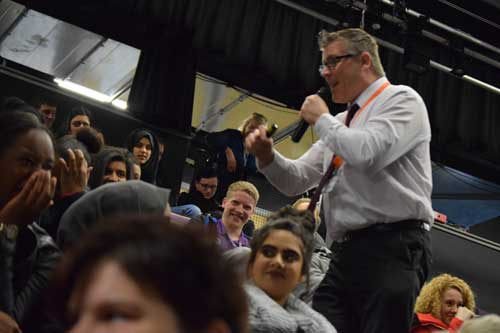 A post-16 English GCSE Show.