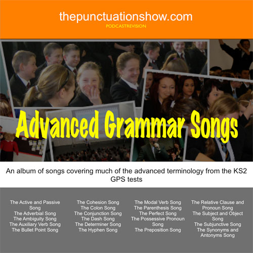 The Album 'Songs from the Punctuation and Grammar Shows' album cover
