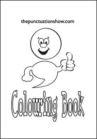 The Punctuation Show Colouring Book